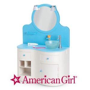 American Girl Bathroom Vanity PlaySet Furniture